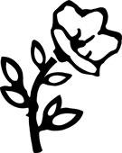 Symbol av en blomst fra Jølstad