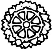 Buddhisttegn som symbol fra Jølstad