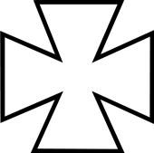 Symbolet Frimurer-Tempelkorset fra Jølstad