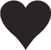 Fylt hjertesymbol fra Jølstad