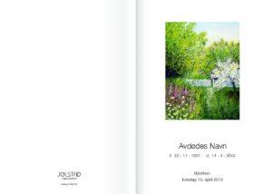 Lite bilde på forsiden av programhefte fra Jølstad