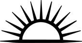 Nedadgående sol som symbol hos Jølstad