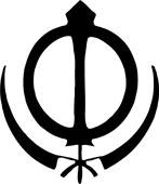 Sikh-symbolet fra Jølstad
