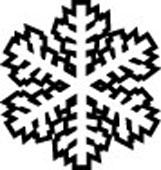 Symbol av snøkrystall fra Jølstad