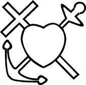 Symbolet tro, håp og kjærlighet fra Jølstad